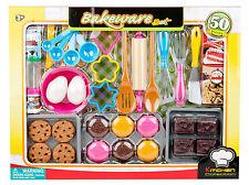 50 tlg Mega Backset für Spielküche Muffins Lebensmittel Küchenzubehör uvm 227189