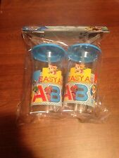 New Paw Patrol Set Of 2 Tumblers With Straws