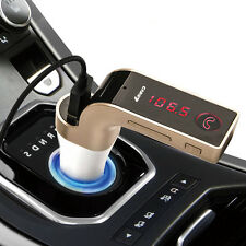 Wireless LCD Bluetooth Car MP3 FM Transmitter AUX USB Charger Handsfree Kit