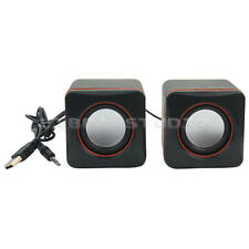 2Pcs Mini Portable USB Speaker for Mp3 Player Laptop Desktop Cellphones Computer