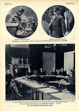 Vierte britische Kolonialkonferenz in London Genera Botha Bilddokumente 1907