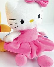 Baby infant hello kitty pink activity pull bell plush toy developmental toy
