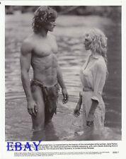 Miles O'Keefe barechested, Bo Derek VINTAGE Photo Tarzan The Ape Man