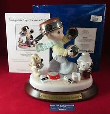 PRECIOUS MOMENTS PRAISE HIM WITH RESOUNDING CYMBALS 4001572 FIGURINE 2074/3000