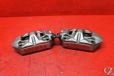 R 09-12 DUCATI STREETFIGHTER S FRONT BRAKE CALIPERS MONO BLOCK BREMBO OEM