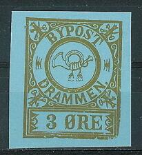 Norway - label 1976 Drammen bypost