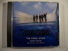 Scorpions The Final Sting Radio Special Promo-Only CD