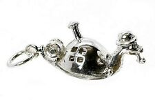 STERLING SILVER OPENING MR SNAIL CHARM