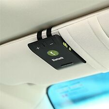 Bluetooth Vivavoce Auto Kit Senza Fili Cellulare Smart Phone Telefono Porta USB ALTOPARLANTE