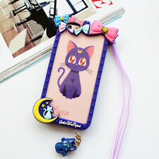 Cartoon Bow Frame Sailor Moon Silicone Soft Bumper for iphone 7 Plus 6 6S