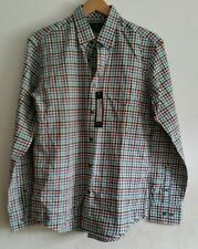 Blue Harbour Brushed Cotton Checked long sleeve shirt size Small