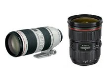 Canon 24-70mm f/2.8L II USM + Canon EF 70-200mm 2.8 L IS II USM  2  Zoom Kit