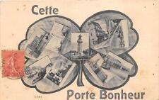 CPA 34 CETTE PORTE BONHEUR