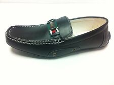 New Mens Leather Look Designer Inspired Slip On Loafers Shoes Coffee Black White