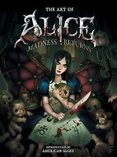 The Art of Alice: Madness Returns McGee, American Books-Acceptable Condition