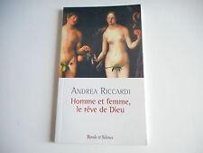 HOMME ET FEMME LE REVE DE DIEU - ANDREA RICCARDI
