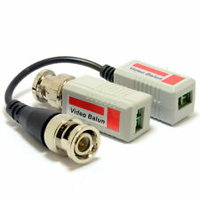 BNC Video Balun CCTV Over LAN Cat 5 Network Adapter Cable (PAIR) [006986]