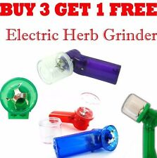 Acrylic Electric Aluminium Tobacco Herbs Grinder Crusher Mull Pollinator Metal