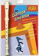 The Cartoon Songbook: Recorder Fun! Pack by Leonard Corporation, Hal