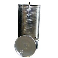 Botte per vino in acciaio inox con galleggiante pneumatico ad aria da 500 litri