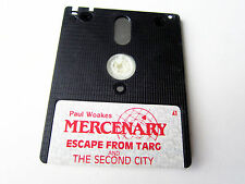 Paul woakes mercenary & The Second City Amstrad Schneider CPC pal Game Disk