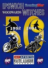 Speedway Programme IPSWICH WITCHES v POOLE PIRATES Apr 2001