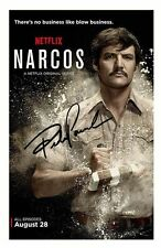 PEDRO PASCAL - NARCOS AUTOGRAPHED SIGNED A4 PP POSTER PHOTO
