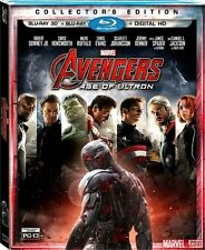 Marvel Avengers Age of Ultron 3D Blu-ray Digital Copy with Reflective Slipcover