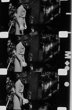 HOME MOVIE LATE 20'S SKI TENNIS CARS DOG 16MM B&W SILENT FILM ROLLED NO REEL  A3