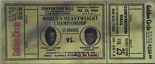*  Muhammad Ali / Cassius Clay 1963 - 1966 Repo Boxing Tickets 7 different *