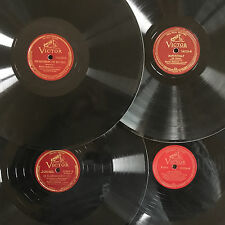 """Lot of 4 MARIAN ANDERSON Contralto OPERA Victor 12"""" 78rpm INSTANT COLLECTION!"""