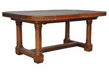 table salle à manger de style gothique noyer