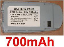 Batería 700mAh Para SAMSUNG SGH-C200, SGH-C208, SGH-C207, SGH-C230