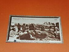 CHROMO PHOTO CHOCOLAT SUCHARD 1930 COLONIES TUNISIE AFRIQUE HOUMT-SOUK Marché