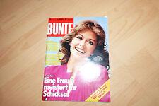 Bunte 1981 Heft 18 Wencke Myhre