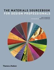 The Materials Sourcebook for Design Professionals by Rob Thompson Hardcover Book