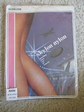 NEW VINTAGE SKYLON NYLON HOSIERY WOMEN'S STOCKINGS SIZE 10.5 SHADOW LENGTH 32-33