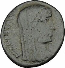 CONSTANTINE I the GREAT Heaven Chariot Ancient Roman Coin Deification  i37511