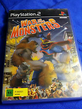 War of The Monsters (PAL) Ps2 Playstation 2 English Game