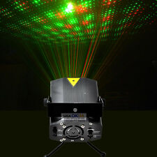 Mini Laser Projector Stage Lights Party DJ KTV Room R&G Lighting Sound Activated