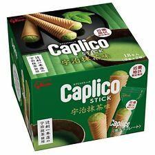 From Japan Glico Giant Caplico Stick Matcha Flavor Set of 18pcs