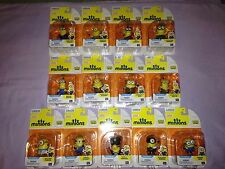 Complete lot of 13 MINIONS Movie Exclusive Mini Action Figures Despicable Me