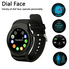 NEW NO.1 G3 Smart Watch Full Circular Dial Stainless steel For Android IOS Black