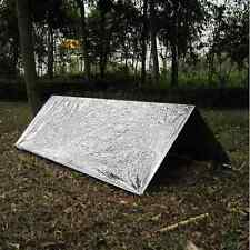 Emergency Tent Tube Survival Camping Shelter PET Aluminum Tent Outdoor Tools