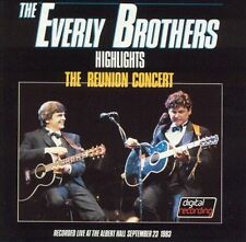 Reunion Concert: Highlights by The Everly Brothers (CD, Jan-1989, Mercury)