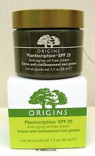 Origins Plantscription Anti Ageing Face Cream 50ml - Oil Free Version -  Boxed