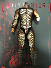 Hot toys city hunter predator 2 nude body & filet loose scale 1 / 6e