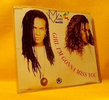 MAXI Single CD Milli Vanilli Girl I'm Gonna Miss You 4TR 1989 Pop Rap, Downtempo