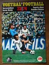 PANINI LIKE  EMPTY ALBUM FOOTBALL 73/74 + POSTER RODE DUIVELS  VANDERHOUT