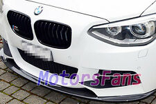 PAINTED FRONT LIP SPOILER For BMW F20 1-SERIES M TECH M SPORT BUMPER 11UP B118F